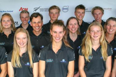 NZL Sailing Foundation Youth Team