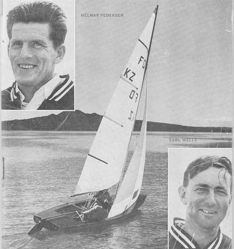 Helmer Pedersen and Earle Wells