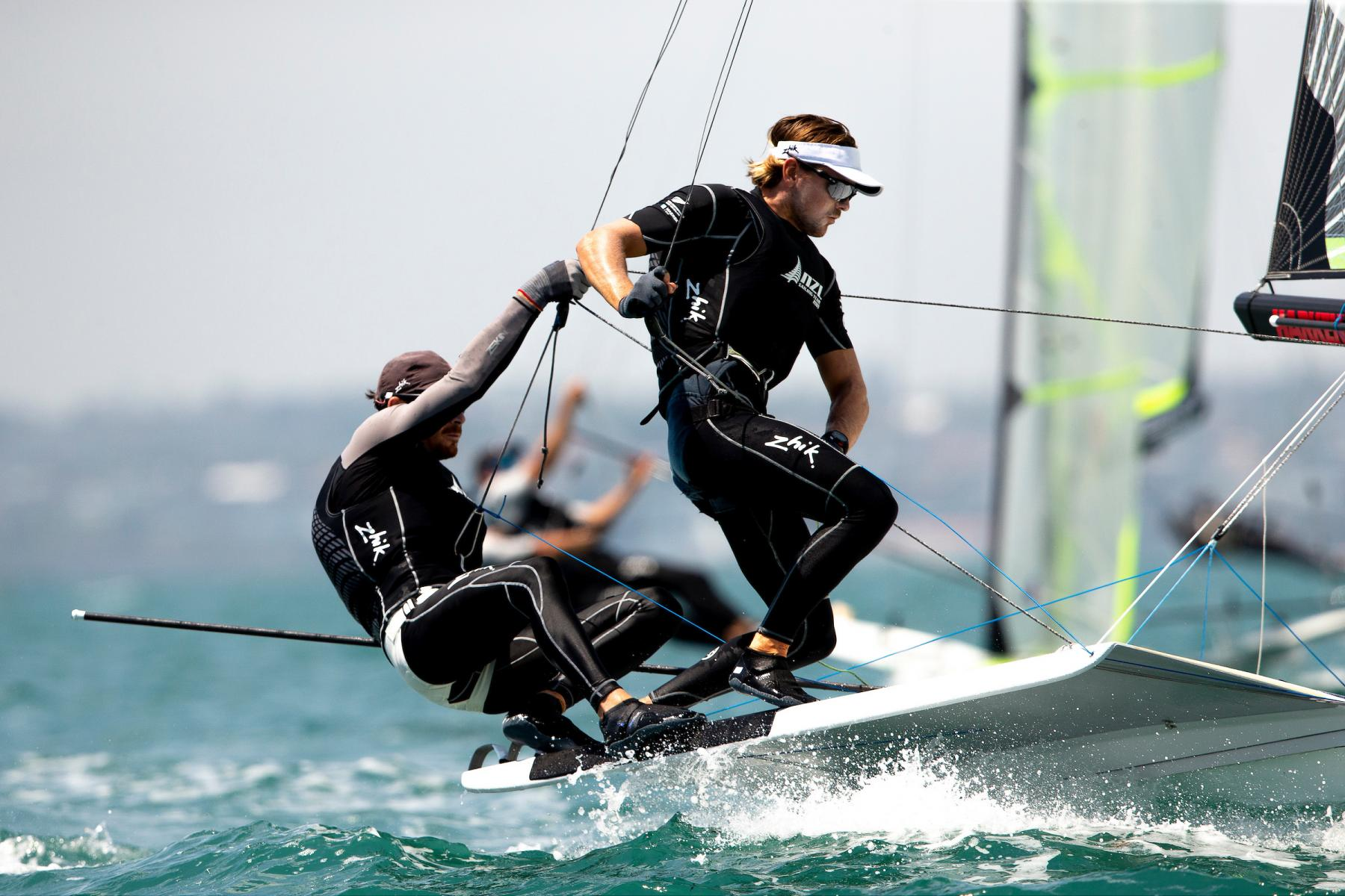 Stakes increase at 49er/FX and Nacra worlds