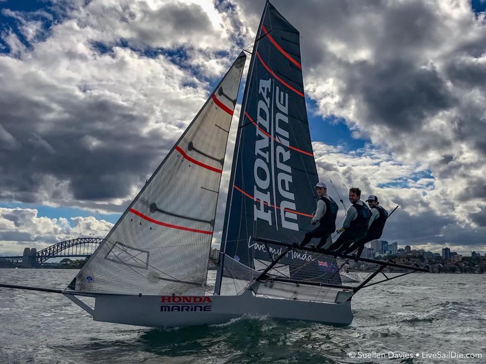 Honda Marine Make History At Jj Giltinan Trophy Yachting New Zealand